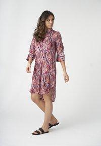 Dea Kudibal - KAMILLE - Shirt dress - persian rose - 1
