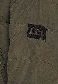 Lee - Vinterjakke - serpico green - 10