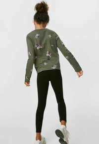 C&A - SET - Leggings - Trousers - dark green / black - 1