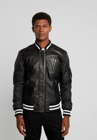 Be Edgy - BESASCHA - Leather jacket - black - 4