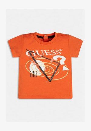 FRONTLOGO - Camiseta estampada - orange