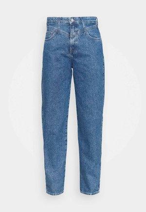 LOLA - Straight leg jeans - dark blue denim