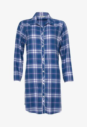 Dressing gown - blue chks