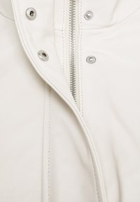 Proenza Schouler White Label - LIGHTWEIGHT DRAWSTRING WAIST JACKET - Leather jacket - ecru - 10