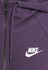 Nike Sportswear - Zip-up hoodie - dark raisin/white - 6