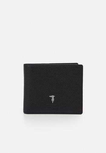 WALLET TRIFOLD SMOOTH - Wallet - black