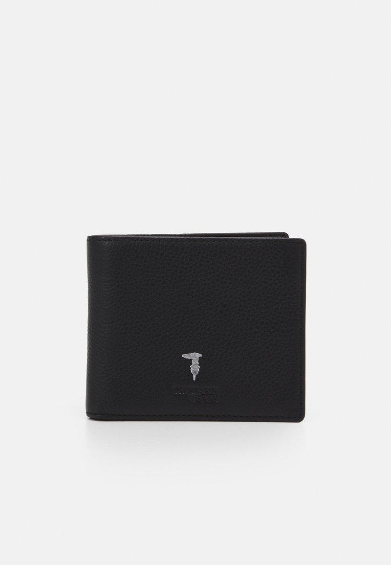 Trussardi - WALLET TRIFOLD SMOOTH - Wallet - black