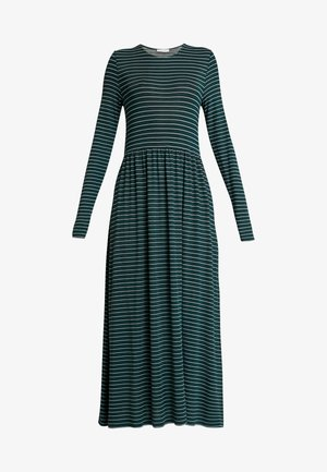 LEAH DRESS - Maxi dress - dark green