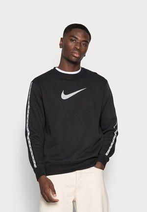 REPEAT CREW - Sweatshirt - black