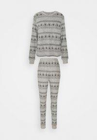 Anna Field - SET - Pyjama set - grey/black - 5