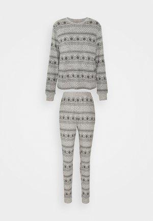 SET - Pyjamas - grey/black