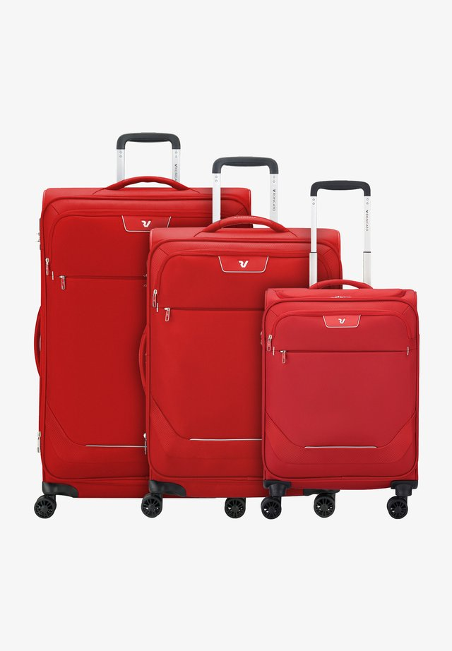 Wheeled suitcase - rosso