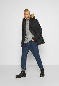 Brave Soul - EVEREST - Winter coat - black - 1