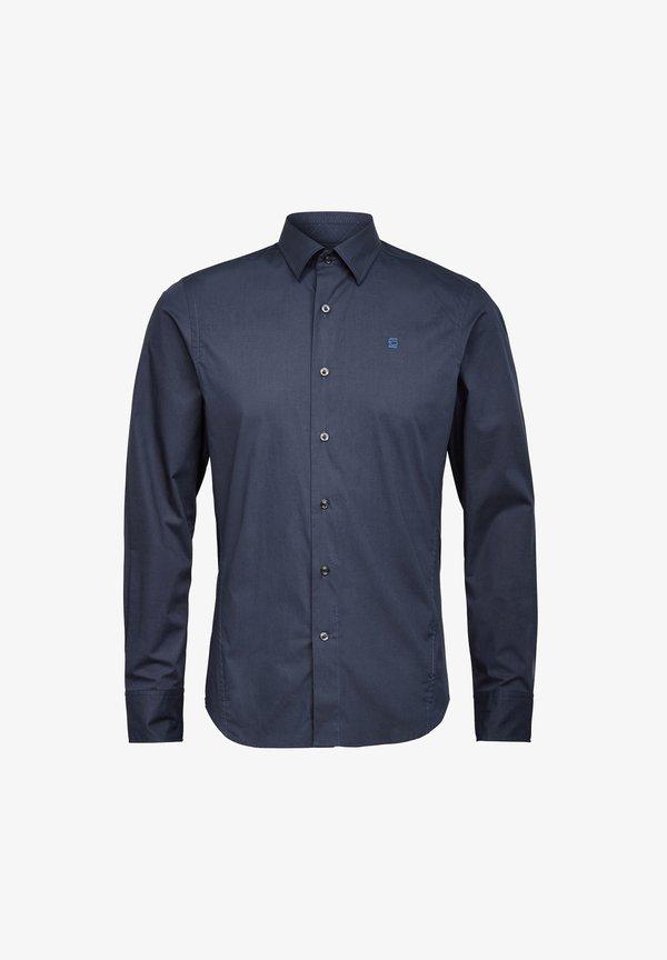 G-Star DRESSED SUPER SLIM - Koszula - mazarine blue/granatowy Odzież Męska XILG
