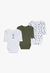 Name it - NBMBODY ZEBRA 3 PACK - Body - loden green - 0