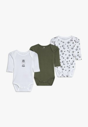 NBMBODY ZEBRA 3 PACK - Body - loden green