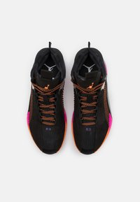Jordan - AIR XXXV - Basketball shoes - black/total orange/hyper grape - 3