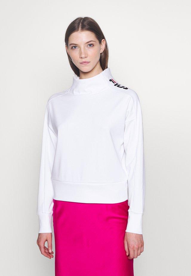 CECE - Top sdlouhým rukávem - bright white
