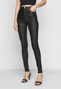 Dr.Denim Tall - MOXY - Jeans Skinny Fit - black metal - 0