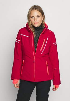 WOMAN JACKET ZIP HOOD - Skijakke - magenta
