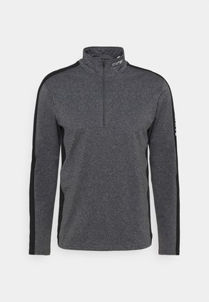 FLEMINTON - Fleece jumper - lead grey
