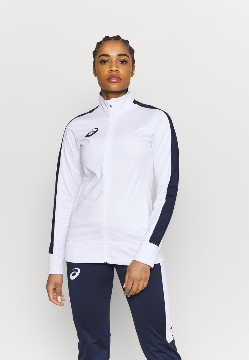 ASICS - WOMAN SUIT - Tracksuit - real white