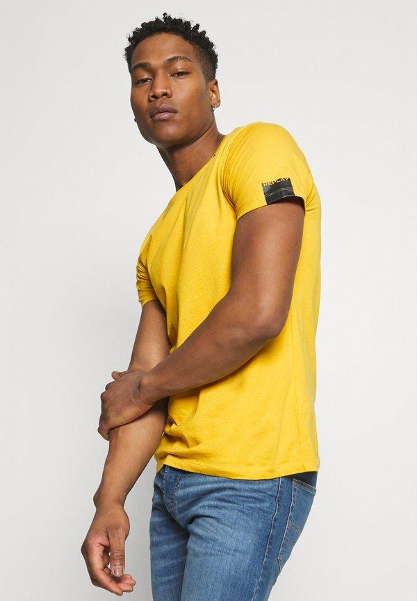 Replay T-shirt basic - citron/żÓłty Odzież Męska DOHY