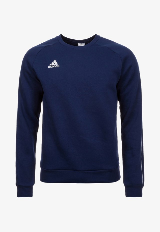 CORE ELEVEN FOOTBALL LONG SLEEVE PULLOVER - Sweatshirt - dark blue