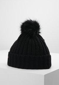 Barbour - SALTBURN BEANIE - Mütze - black - 2