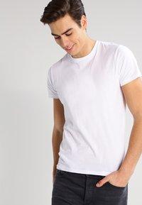 Lee - 2 PACK - T-shirt basic - white - 2