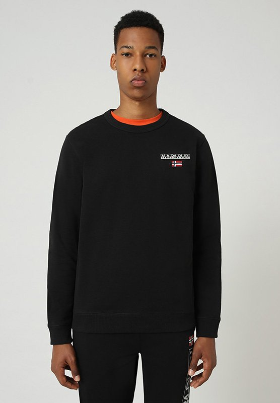 Napapijri - B-ICE CREW - Sweatshirt - black 041