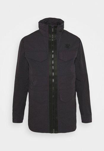 LIGHTWEIGHT ZIP THROUGH JACKET - Summer jacket - black