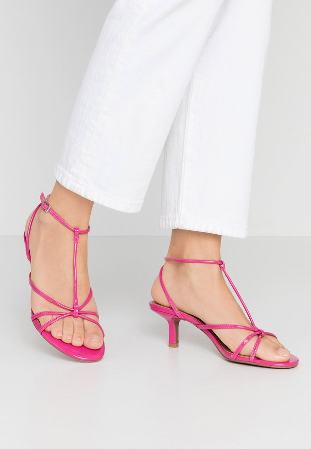 FREYA - Sandals - magenta