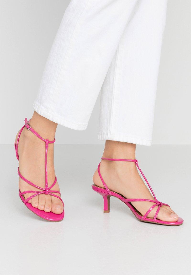 Who What Wear - FREYA - Sandals - magenta