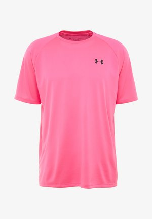 HEATGEAR TECH  - Print T-shirt - pink surge/black