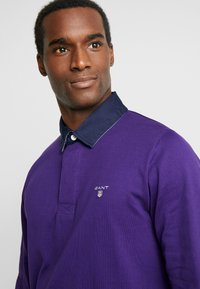 GANT - THE ORIGINAL HEAVY RUGGER - Polo shirt - parachute purple - 4