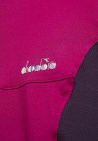 Diadora - DRESS CLAY - Sportovní šaty - violet boysenberry - 5
