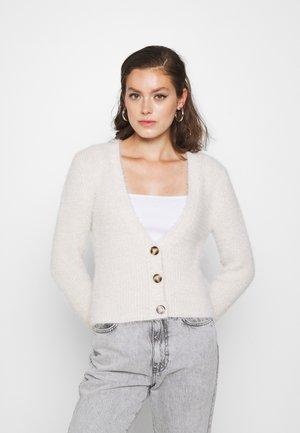 NMFAIRY CARDIGAN - Strickjacke - pristine