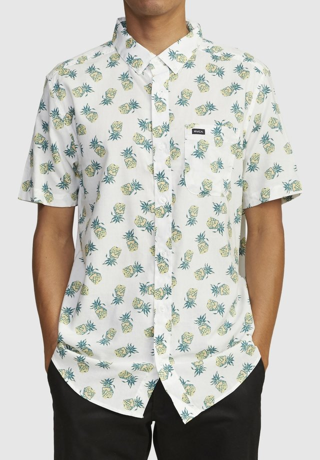 ANP DMOTE REFLECTIONS - SHORT SLEEVE - Overhemd - antique white
