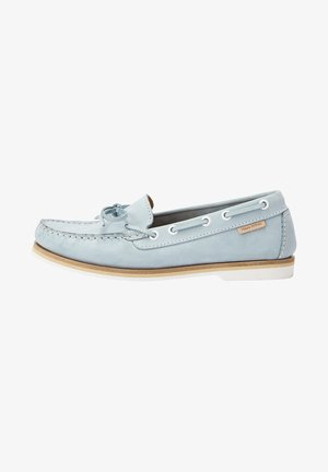 Boat shoes - light blue