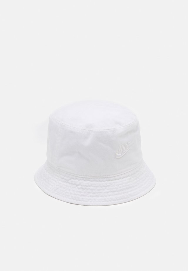 BUCKET FUTURA WASH UNISEX - Čepice - white/irdest