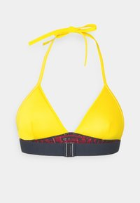 Tommy Hilfiger - TRIANGLE FIXED - Bikini top - amber glow - 6