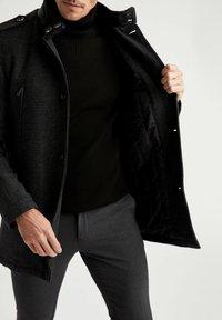 DeFacto - Klassinen takki - black - 3