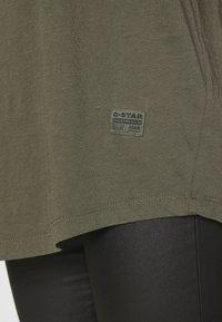 G-Star - LASH FEM LOOSE - Basic T-shirt - combat - 3