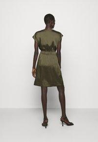 DKNY - CAP V NECK DRESS - Day dress - rosemary - 2
