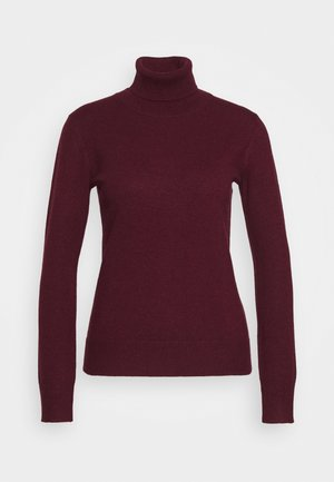 TURTLENECK - Trui - burgundy