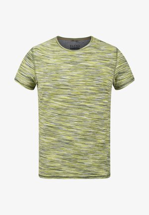 T-shirt con stampa - forest green