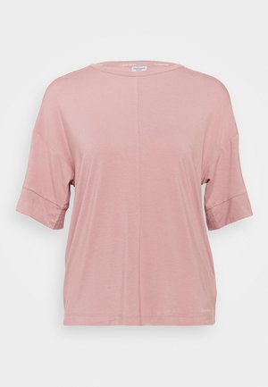 CURVE NECK - Pyjama top - alluring blush