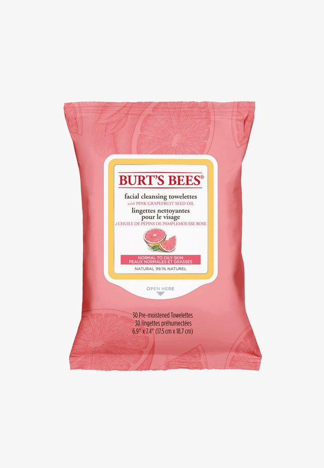 FACIAL CLEANSING TOWELETTES 30 PACK - Nettoyant visage - pinkgrapefruit