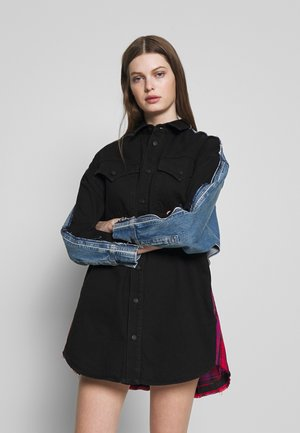 LIFIE DRESS - Jeanskjole / cowboykjoler - black